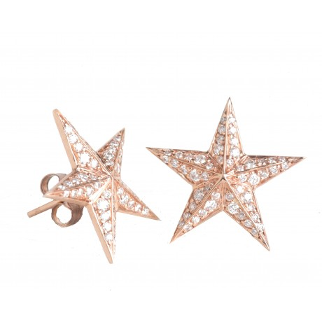 Diamond Star Studs