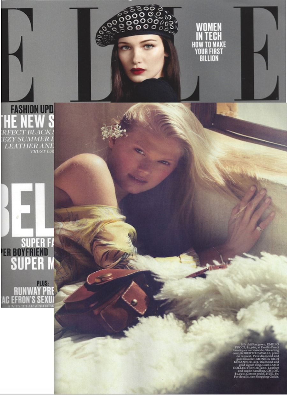 Elle June 2016