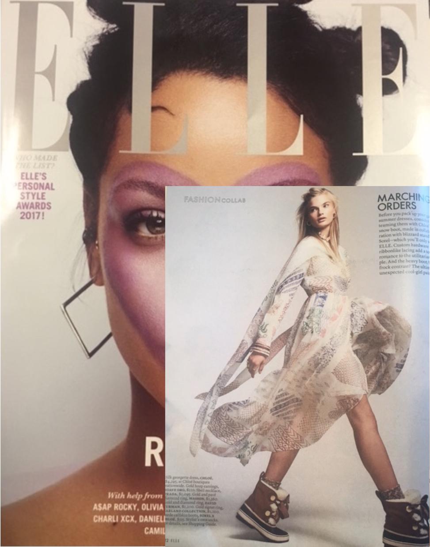 Elle October 2017