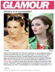 Glamour.com 2009